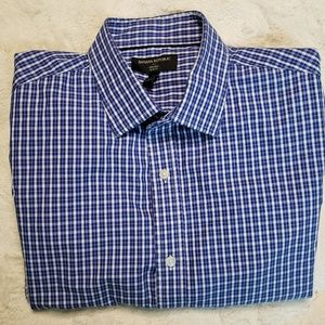 BANANA REPUBLIC SHIRT SLIM FIT MEN SIZE LARGE